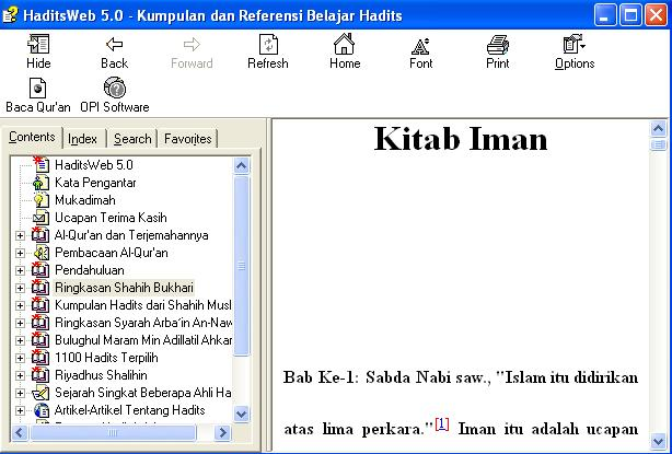 Download Hadits Digital Bahasa Indonesia Gratis Kabar Tentang