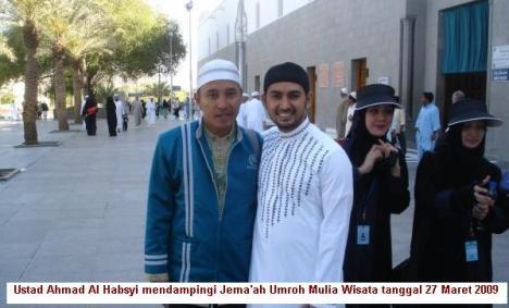 Jema'ah Mulia Wisata dengan Ustad Ahmad Al Habsyi