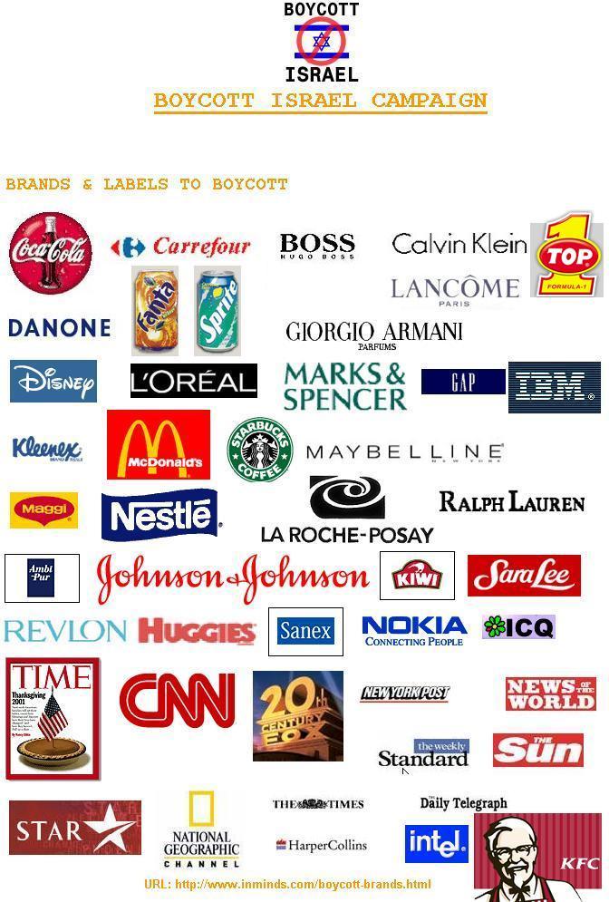 Daftar Produk AS dan Israel yang Harus Diboikot