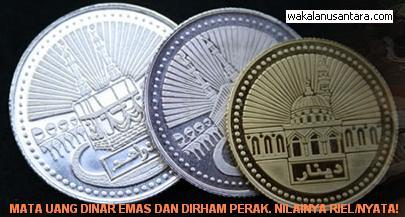 Dinar Emas dan Dirham Perak – Solusi Inflasi