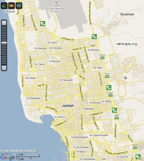Peta Jeddah