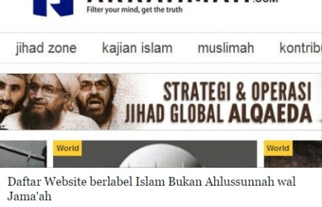 Website Bukan Aswaja