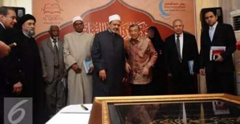Syekh Al Azhar dan Quraish Shihab